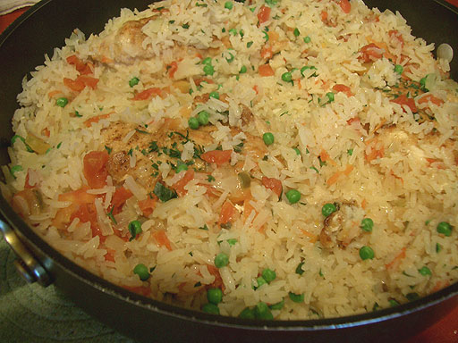 Arroz con Pollo - The Foods of the World Forum