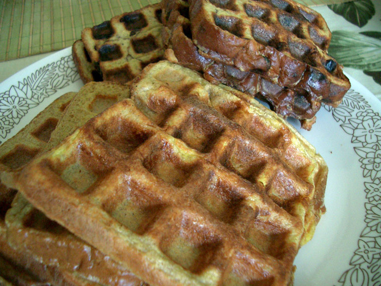 toast waffles with waffle iron french toast french toast waffles once ...